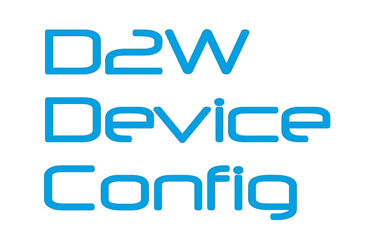 D2W Device Config