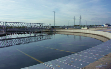 Application example waste water treatment plant