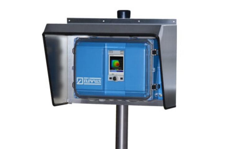 Field enclosure for flowmeter NivuFlow