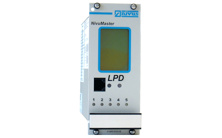 "NivuMaster 19"" rack version for level and volume measurement"