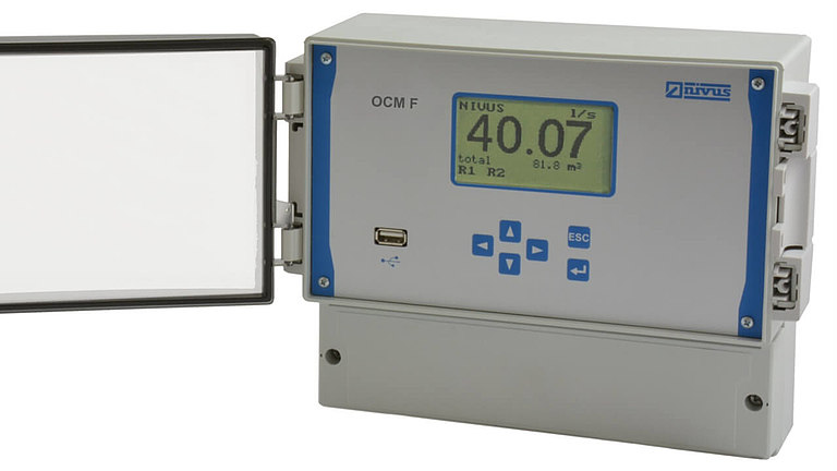 OCM F ultrasonic flow meter