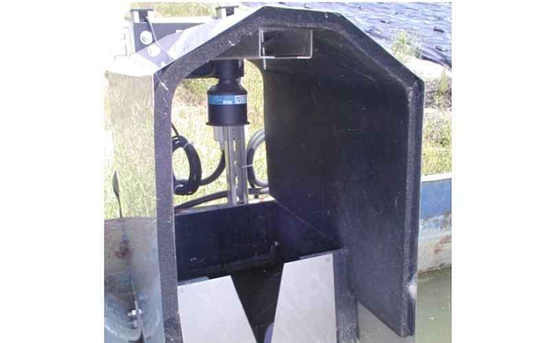 Flow Measurement Dump Seepage Water