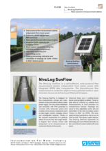 NivuLog SunFlow data sheet