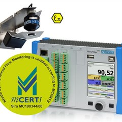 MCERTs certified radar flow measurement system with NivuFlow 550, OFR radar flow velocity sensor and i3 level sensor