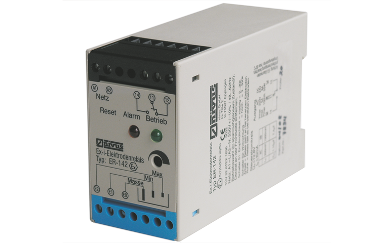 Elektrodenrelais 142-143 for level switch and control