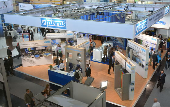NIVUS booth at IFAT 2014