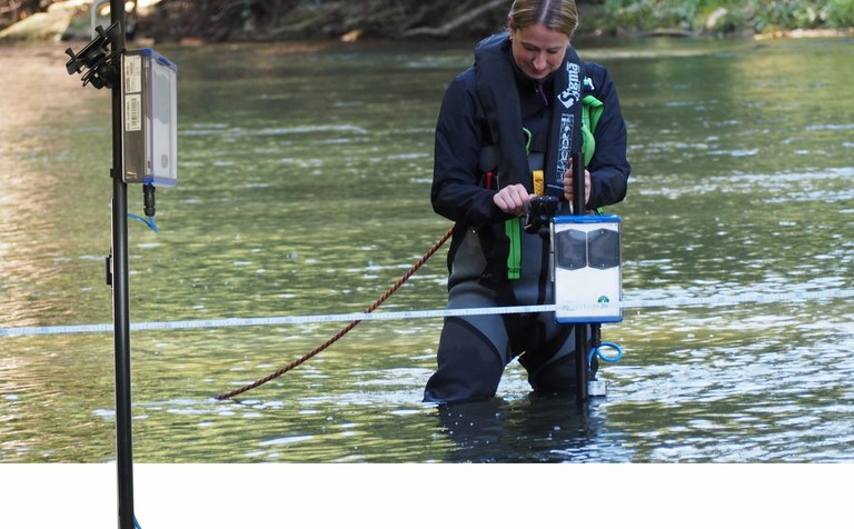 NivuFlow Stick allows for reliable and convenient discharge metering in rivers, streams and canals