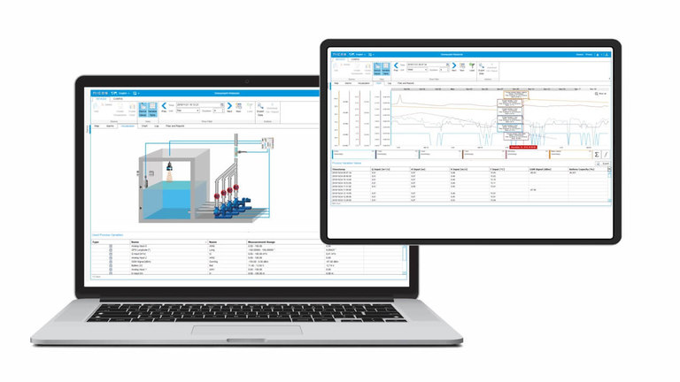 Measurement Data Management with NIVUS Web Portal