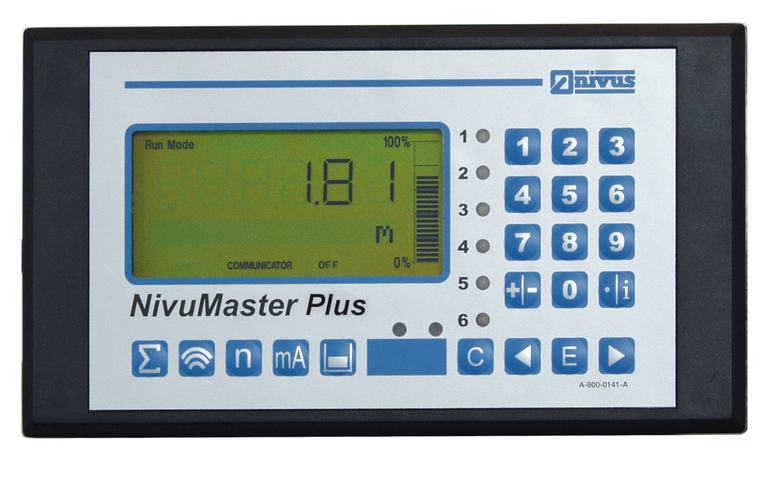 NivuMaster Plus for pump management of up to 5 pumps