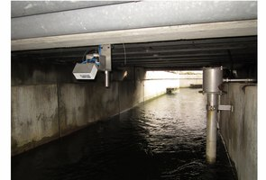 Contactless Flow Measurement on Fish Ladder
