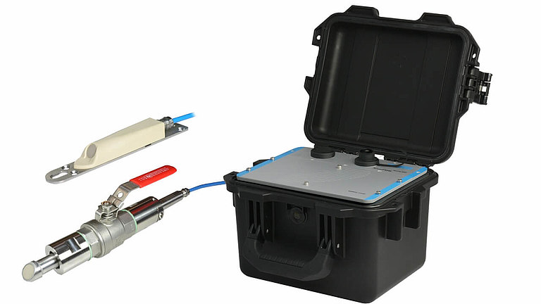 Portable flow meter system with pipe and wegde sensors